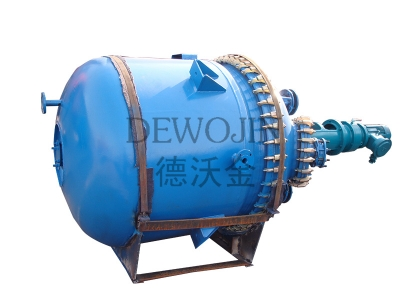 Oil Heating Glass Lined Reactor
