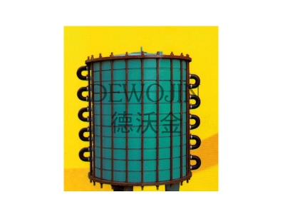 Glass lined disc type heat exchanger