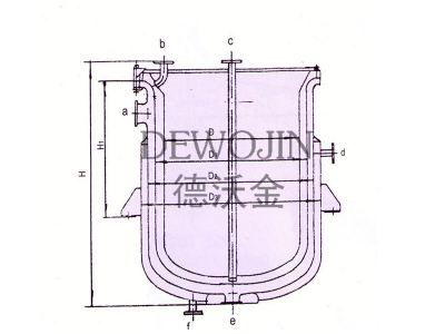 Glass lined sleeve type heat exchanger